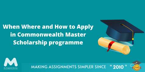 Applications for Commonwealth Scholarships