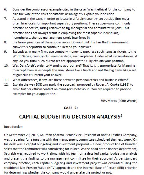 corporate coursework assessment sample 3