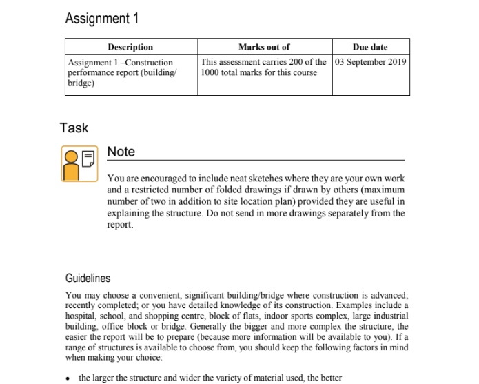 Civil Engineering Coursework Help