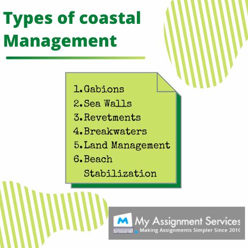 types of coastal management