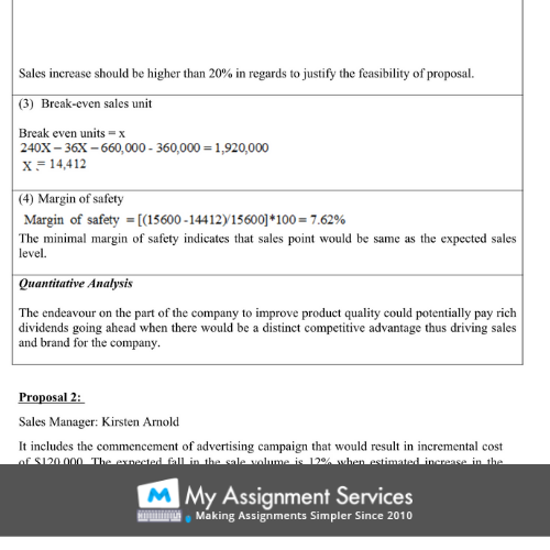 Project Management Essay Writing Example