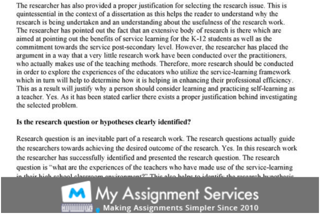 dissertation homework sample 5