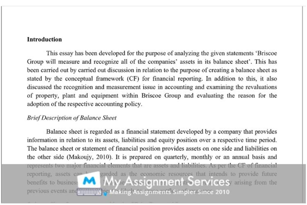 Accounting essay samples 2