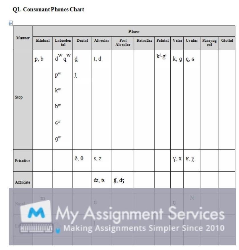linguistics essay assignment sample 4