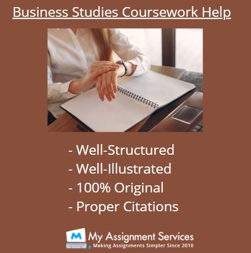 Business Studies Coursework Help by Experts