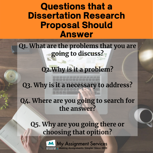 questions that a dissertation research proposal should answer