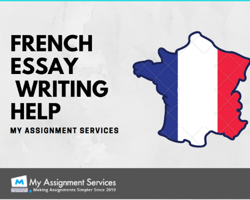 French Essay writing service by experts