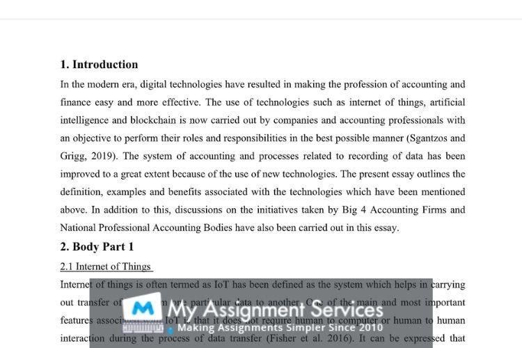 finance thesis writing sample