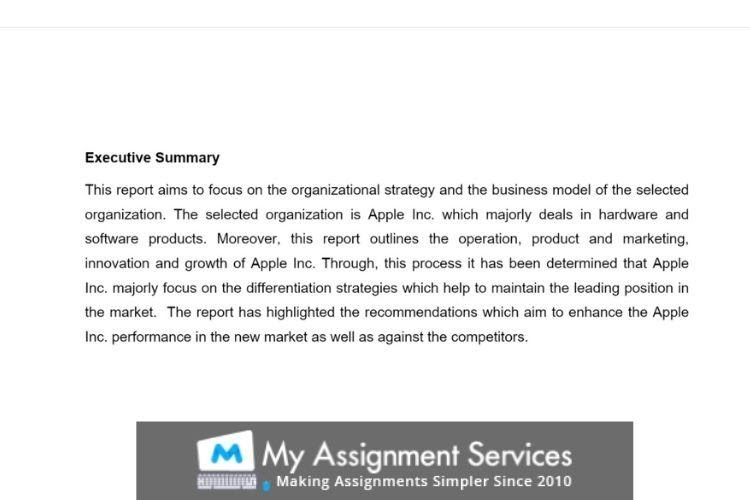 MBA thesis writing sample