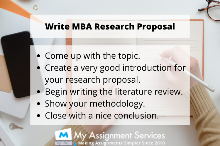 MBA thesis writing help UK by experts