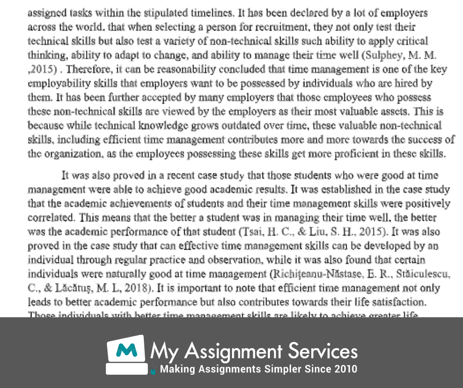 business thesis assessment solution sample 2