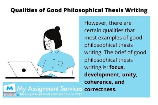 Philosophy thesis writing service