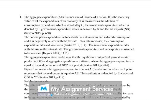 macroeconomic thesis writing assignment