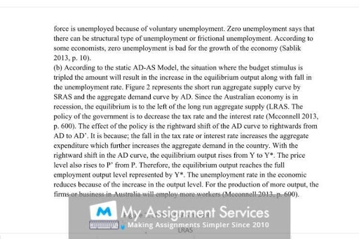 Macroeconomic thesis writing