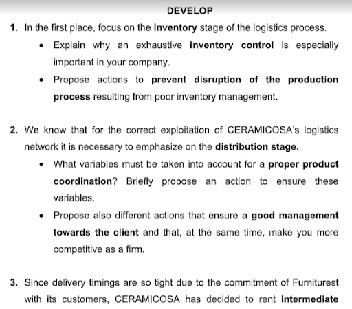 supply chain management assignments help