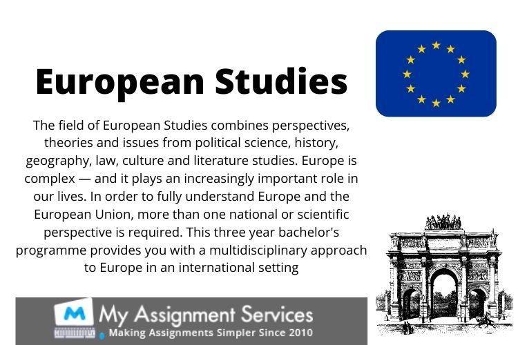 European Studies dissertation help