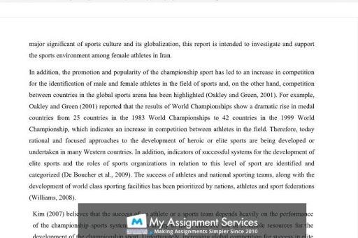 Sports essay writing help