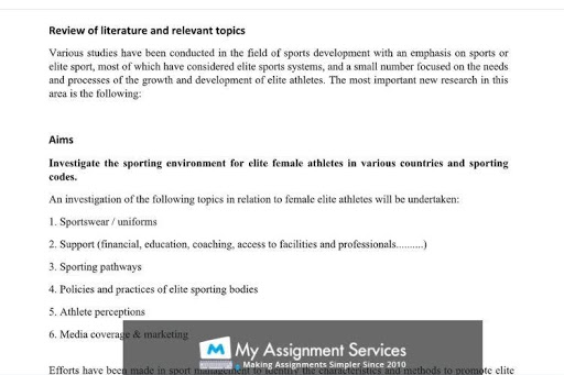 Sports essay writing service UK