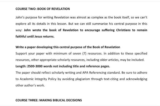 Theology essay writing help