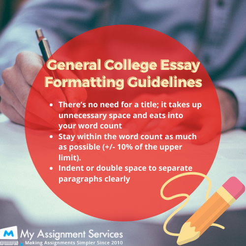 essay formatting guidelines