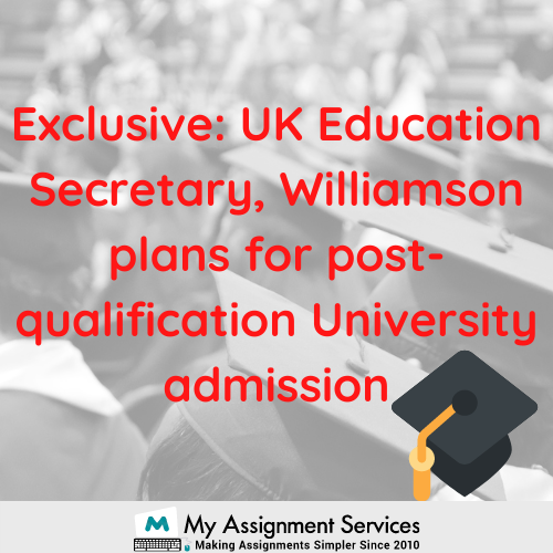 plans for post-qualification University admission