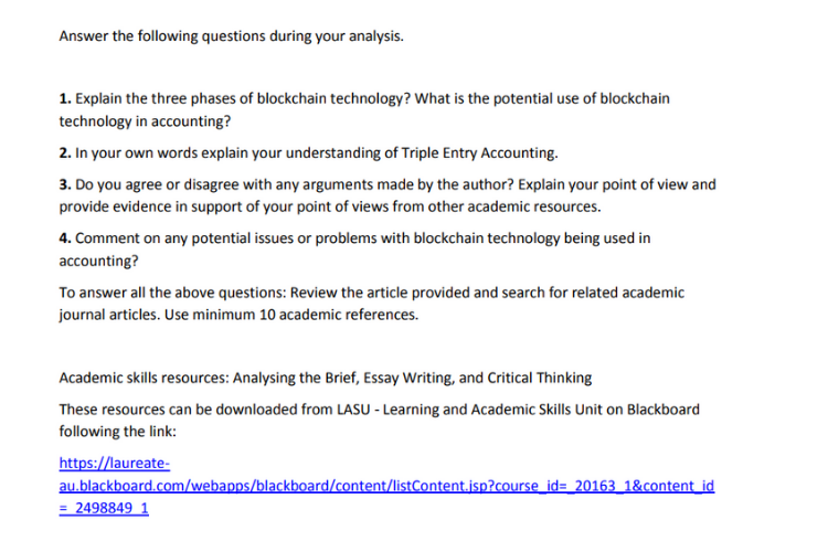 Phase of Blockchain