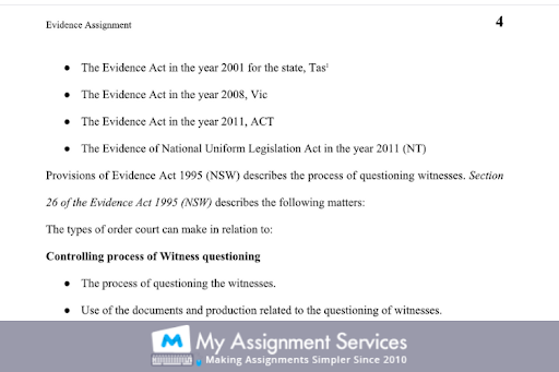70109 Evidence Law Essay
