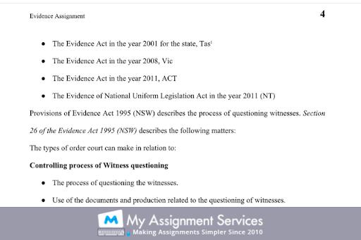 70109 Evidence Law Essay