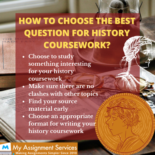 how to choose the best question for history coursework
