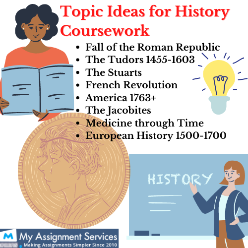 topic ideas for history coursework assignment