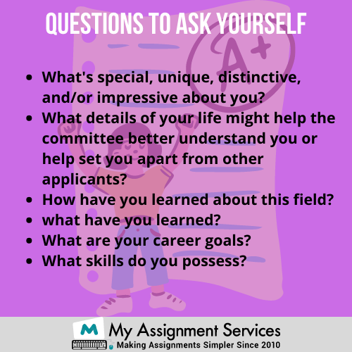 tips for writing a personal statement