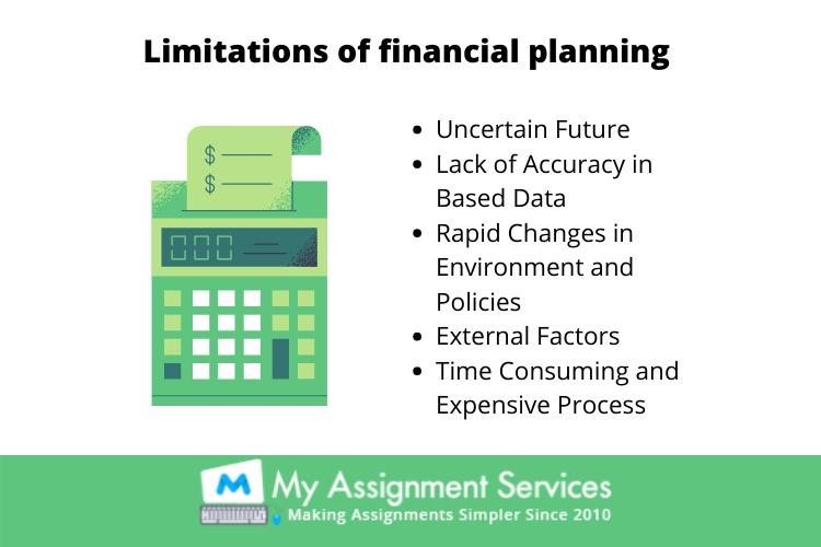 limitation of financial planning