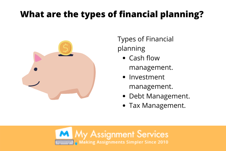types of financial planning