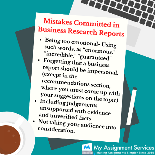 business research report mistake