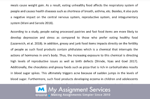 food saftey dissertation writing service