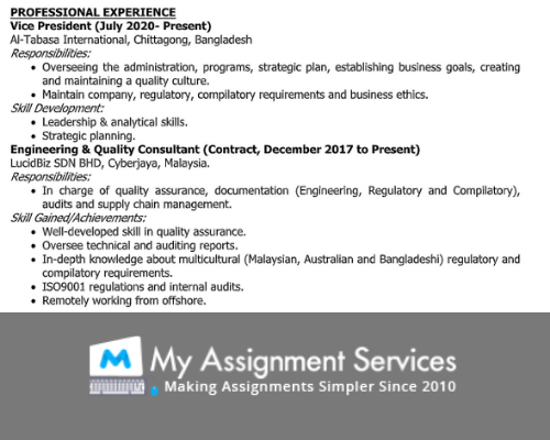 personal statement example