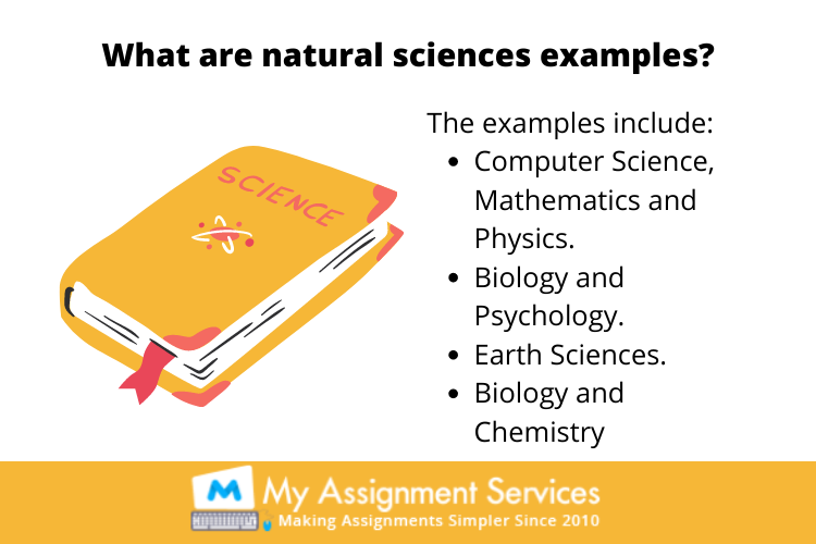natural sciences example