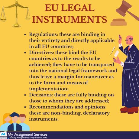 EU legal instrument