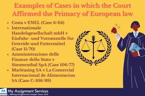 EU law examples