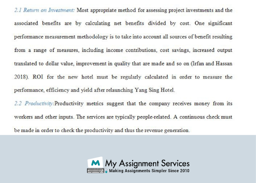 Operations  management  dissertation sample