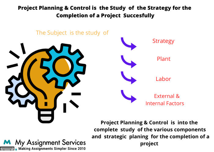 project planning  and control thesis