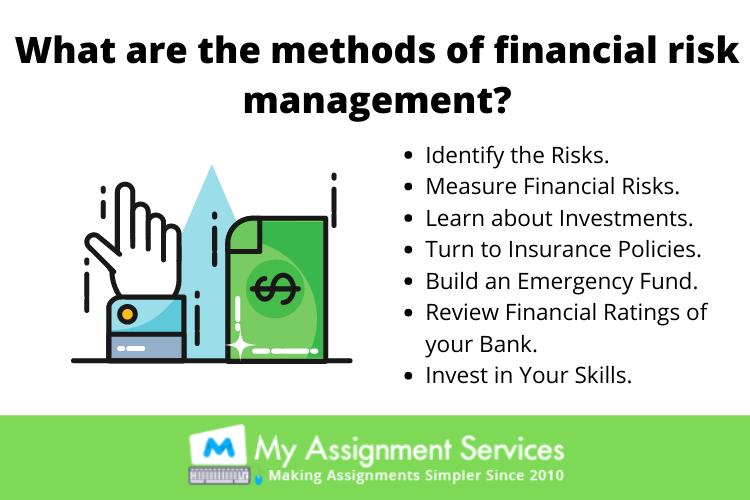 financial risk management techniques
