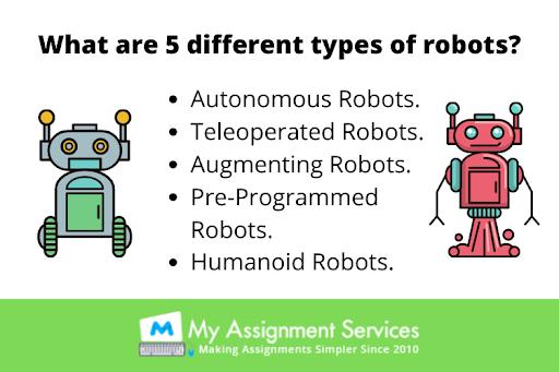 type of robots