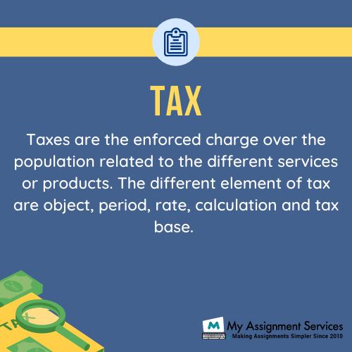 tax dissertation help