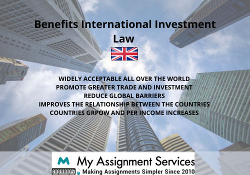 International Investment Law thesis help