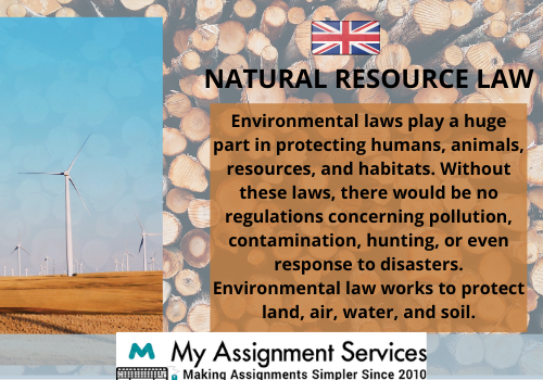 Natural Resources Law thesis help