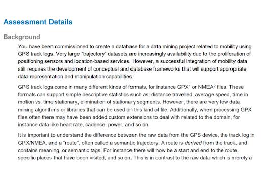 Data Modelling dissertation help sample