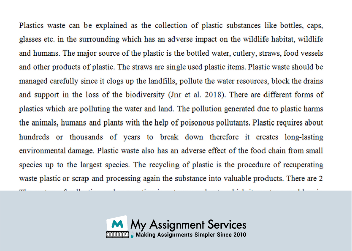 Waste Management Dissertation Help