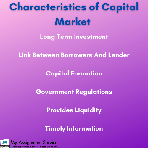 Capital Markets essay help UK