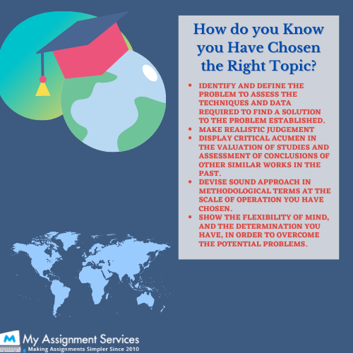 Geography Dissertation tips